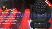 37*3w led moving head stage lighting fast pan/tilt movement