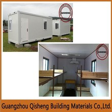 Low cost high quality shipping prefab container homes/house/workplace in Guangzhou
