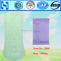 used panty liner waterproof panty liner for lady
