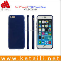 Made in China Factory Good Quality Blank TPU Mobile Phone Case for iPhone 6S