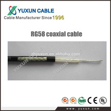 High quality low loss 50Ohm antenna use rg58 cable