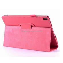 High quality PU leather folding tablet protective pouch case