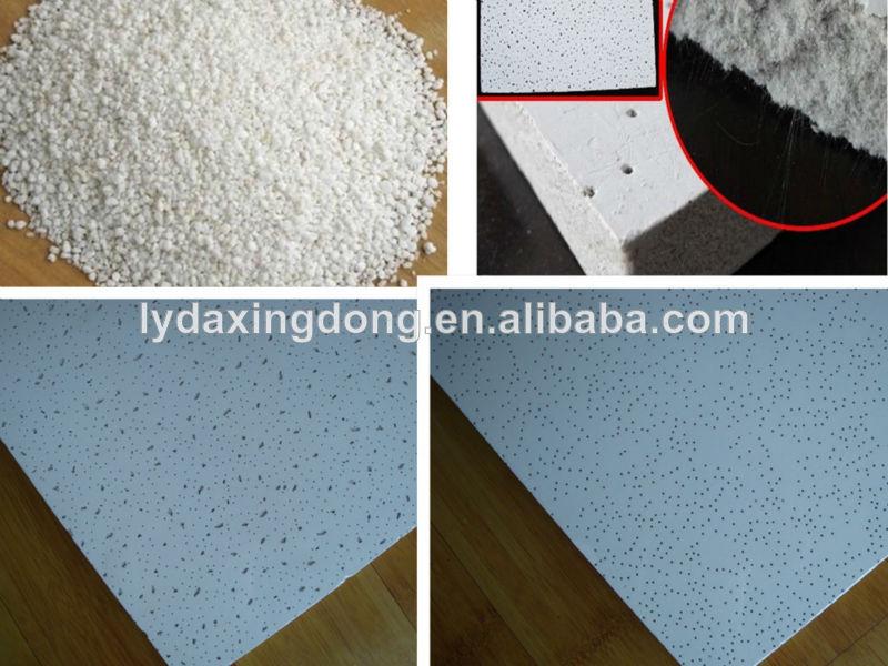 construção de material acústico forro de fibra mineral placa do painel