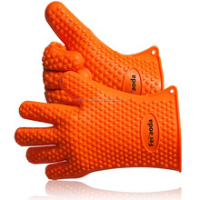 Highest Rated Cooking, Baking Heat Resistant Grilling Silicone BBQ Gloves