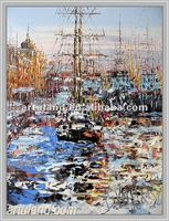 2012 famous impressionism sea scenery painting