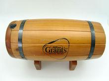 wooden bear barrel for gift wood craft