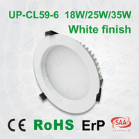 Isolated driver 5 year warranty Ip44 water-proof 6inch 25W high power ultra-thin led recessed ceiling panel light