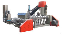 Plastic recycling extruder machine for PP/PE/PPR/PO film