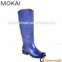 MK25-15-Navy wholesale women boots over knee high heel boots color women boots 2015