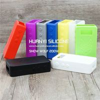 snowwolf 200w mod clone silicone case/skin/sleeve/cover/stickers customize high quality and wholesale price welcome to order