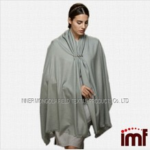 100% Pure Cashmere Scarves & Shawls with Cut Fringes