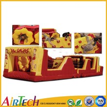 Obstacle course giant inflated,inflatable obstacle course,obstacle