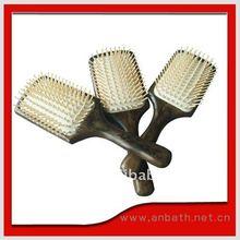 madera peine del pelo, pelo cepillo de masaje, pelo cepillo de masaje, fabricante, profesional cepillo para el cabello