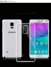 Low MOQ TPU material 0.5mm case for samsung galaxy note 5 China make