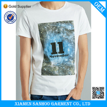 Modern Style Over-Sized T Shirt With Your Own Design O-Neck 100% Cotton Top Quality
