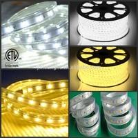 Factory Wholesale led strip 5630 ETL approved IP65 IP67 50meters/reel 230v led strip dimmable