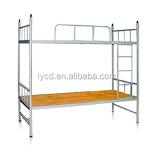 used for dormitory apartment metal bunk bed