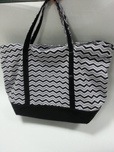 New pattern shopping canvas tote bag
