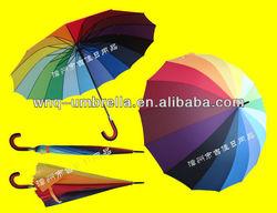 RU70-16K eye-catching color fashion promotional umbrella 16 ribs