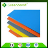Greenbond high density PVDF aluminium composite panels