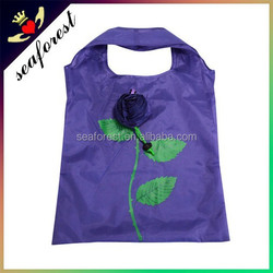 Rose design wholesale cheap shopping bag