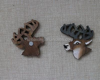 2015 Interesting Wooden laser magnet animal