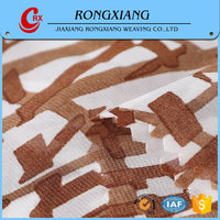 Fabrics supplier Cheap Dress different types of chiffon fabric prints