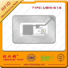 good quality hf rfid tag sticker 13.56Mhz rfid label