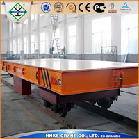 Electric Rail Flat Car Used for heavy load goods