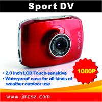 cheap full hd 1080P camera 140 angle sports camera waterproof action camera