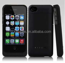 Hot Sale External Rechargeable Battery Backup Charger Case Cover For iPhone 4 4s Battery Case