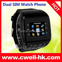 PS-Q8 Dual SIM Card GSM Watch Phone with Keyboard and Multi Colors Smart Watch Android Dual Sim