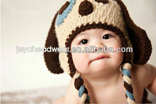 Lovely Warm knitted hat baby animal knitted hat promotional unique knitted beanie hat for promotion