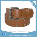 Niños Cinturón de dos agujeros perforados de cuero Jean