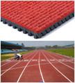 aprobado por la iaaf prefabricados de rodadura de caucho suelo