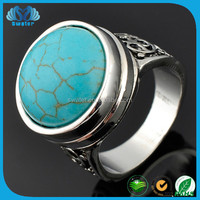 Unique Style Ring Turquoise Jewelry Nepal