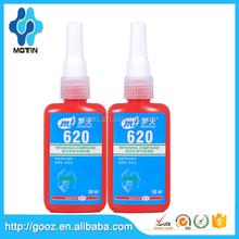 Motin manufacturer free sample 50 ml bottle 620 High Temperature Retaining Compound/620 green glue/anaerobic compound