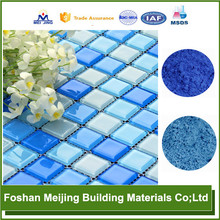 durable crystal mosaic tile pigment paint many color as manufacture