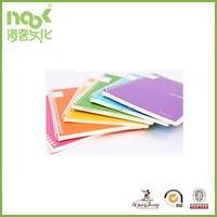 OEM promotional mini spiral coloring notebook paper