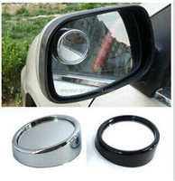 400pcs Wide Angle Round Convex Car Vehicle Mirror Blind Spot Rear View Messaging DHL Freeshipping