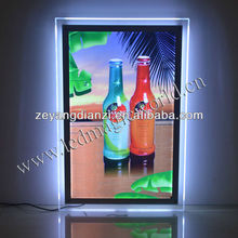 2015 Alibaba China A4 A2 Wall mounted LED Backlit Picture Frames