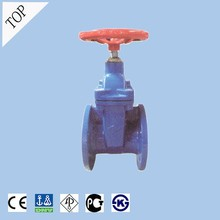 valve manufacturers F4 ductile iron DIN resilient seat non rising stem gate valve with price