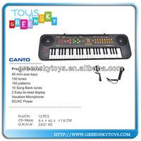49Keys high quality electric piano/keyboard
