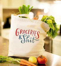 wholesale promotional boutique logo printed recyclable reusable foldable custom made cheap cotton shopping bags