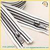 customized #5 woven special zipper tape brass zipper
