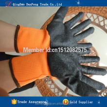 DANFENG JHH206 Black cut resistant cheap work latex gloves