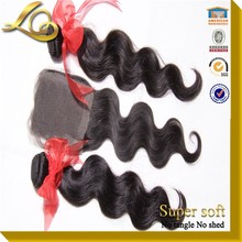 The Virgin Brazilian Body Wave Silk Base Closure Kukui Body Silk 3 Way Part Closure