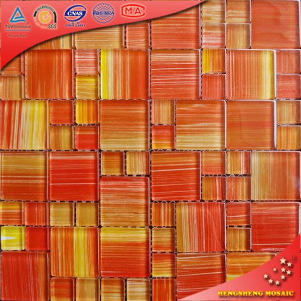 A01 naranja mano pintura cristal ba o cocina decoraci n for Pintura para pared exterior