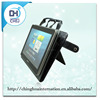PU leather stand tablet sleeve cases with hand strap for men, men tablet bag
