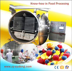 Industrial vacuum freeze dehydrator for fruits, food, vetables of LG30